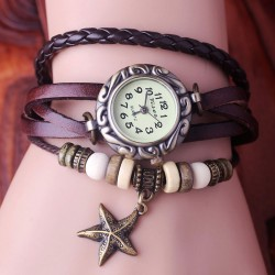 Romantic Star Weave Bracelet Watch