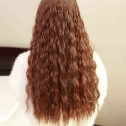 Fashion Loose Curly Clip Hair Weft/Hair Extension