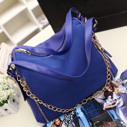Fashion Sapphire Scrub Leather Crossbody Bag &Handbag