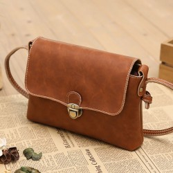 Retro Soild Fashion Mini Shoulder Bag