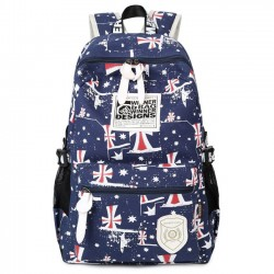 Leisure Printing Teenagers Travel Sport  Rucksack College Backpack