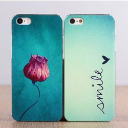 Lovely Gift Flower Letter Print Iphone Case
