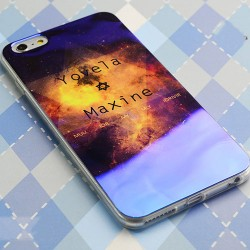 Fantasy Universe Star Silica Gel Thin Soft Case For Iphone 5/5S/6/6Plus