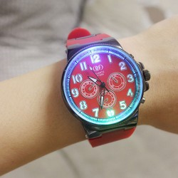 Unique Luminous Silicone Student Quartz Watch