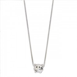 Cute Little Pig Pendant Silver Animal Women Necklace