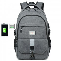 Simple High School Bag Outdoor Large Travel Rucksack Sport Travel Business Computer Bag Backpack