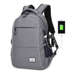 Simple USB Charging Business Bag Large Travel Sport Backpack Men Backpack