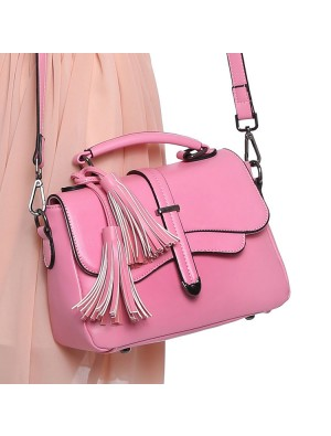 Fresh Casual Tassel Arrow Candy Color Shoulder Bag&Messenger Bag