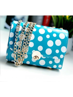 Fresh Sweet Polka Dot Chain Shoulder Bag&Messenger Bag
