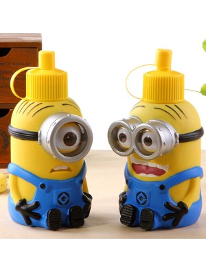 Lovely Minions Cartoon Stainless Steel Big Vacuum Cup