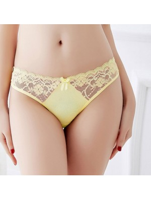 Sexy Lace Underwear Panties Women's Super Soft Mesh Lingerie