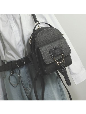 Leisure Multi-function Shoulder Bag Small Lady Backpack