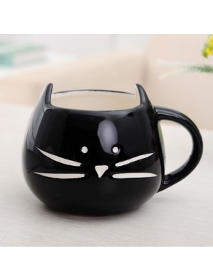 Lovely Cat Cartoon Couple Ceramic Mug/Cup