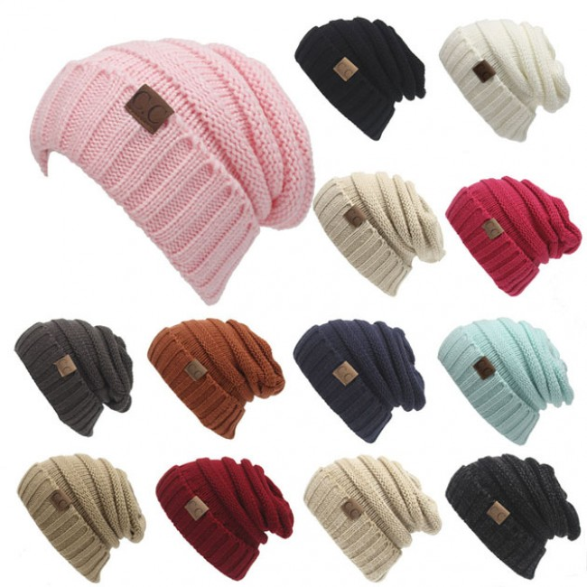 Toasty Wool Knit CC Beanie Warm Hat  229313106e5