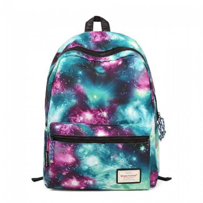6019f49bd8a1 Shining Cool Galaxy Travelling College Backpacks