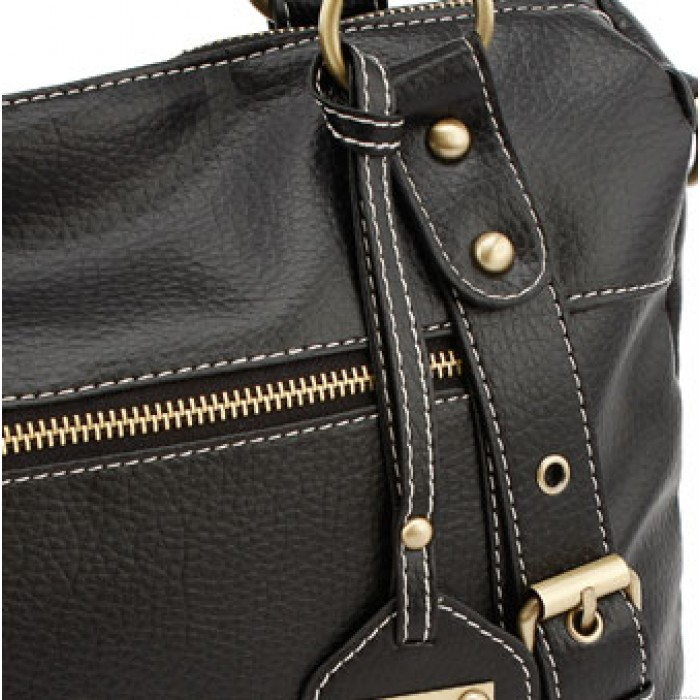 Retro Lady Medium Top Rivet Handle Bag &Shoulder Bag