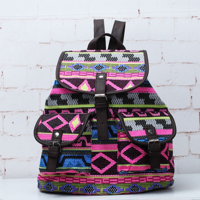 Unique National Style Totem Pattern Backpacks