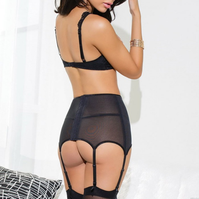 Sexy See Through Expose Breast Uniform Breast Temptation Lace Hollowed-out Women Lingerie