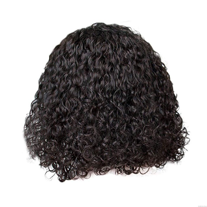 Fashion Black African Middle Wig Curly Hair Wig