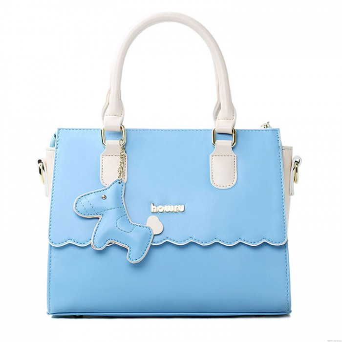Small Fresh Candy Colored Ponies Ornaments Mobile Messenger Bag