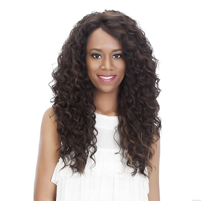New Long Wavy Curly Gradient Women's Hair Wig