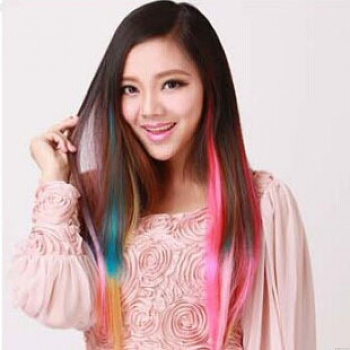 Many Colors Available Clip Hair Weft Extensions