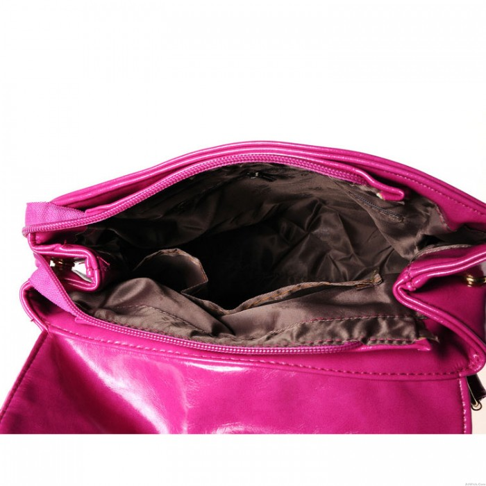 New Double Arrow Candy-colored PU Fashion Lady Backpack