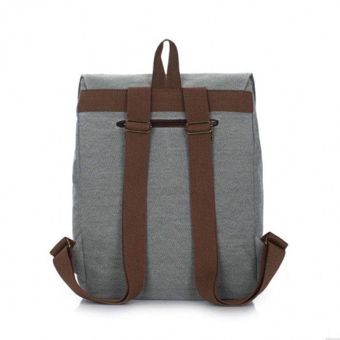 Forever British Style College Canvas Backpack