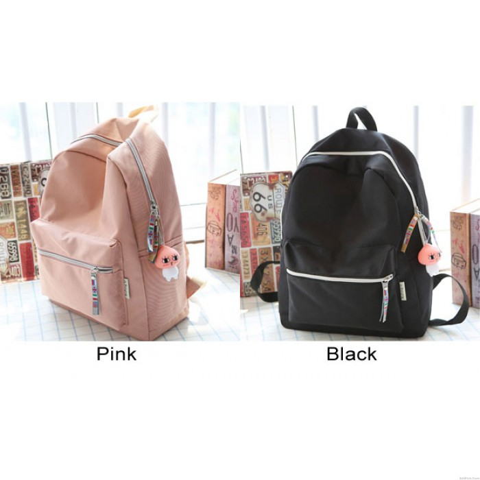 Sweet Young Waterproof Oxford Simple High School Bag Student Backpack
