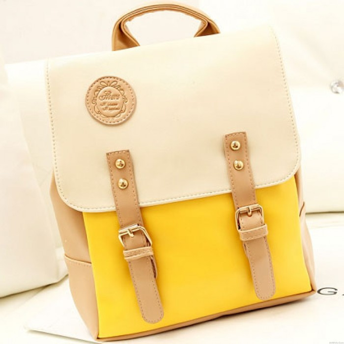 Sweet Mixing Candy Color Backpack