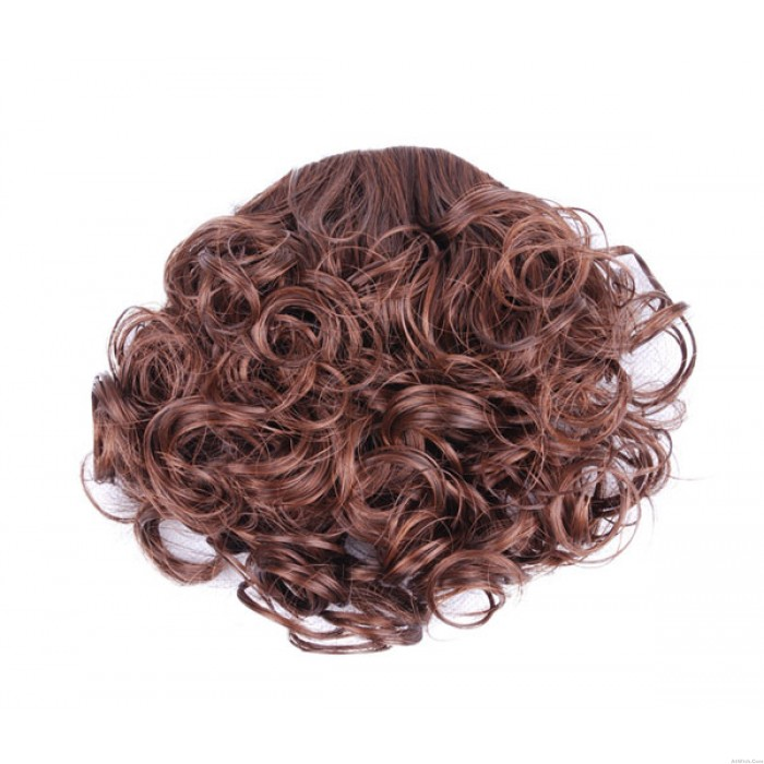 Lovely Small Spring Curl Bang Hair Weft