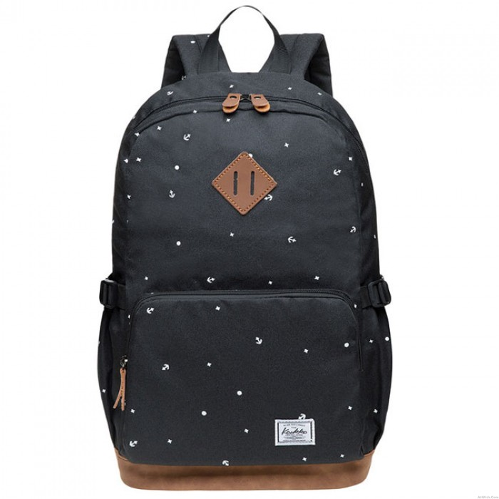 Leisure Large Dot Elephant Nose Travel Bag Oxford Cloth College Backpack