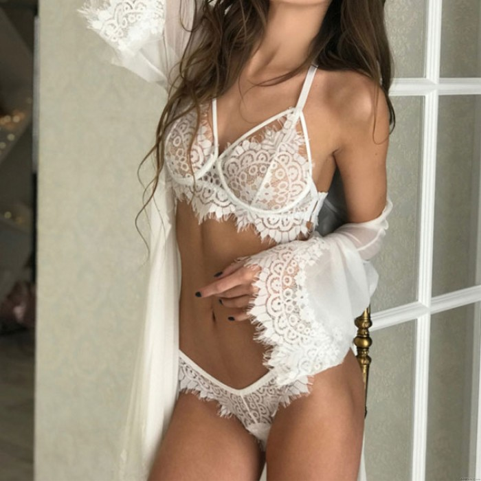 Sexy Underwear Intimate Lace Floral Hollow Women Lingerie