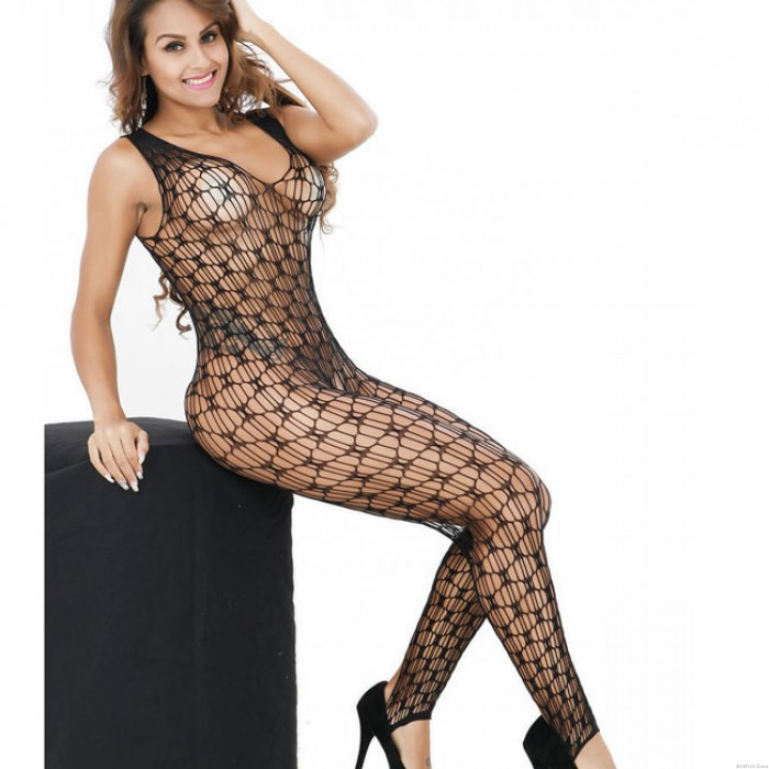 Sexy See Through Fishnet Stockings Underwear Women's Lingerie