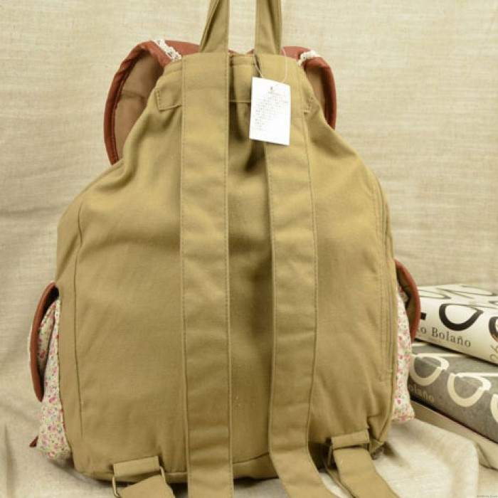 Floral Lace Printing Village Fresh Backpack