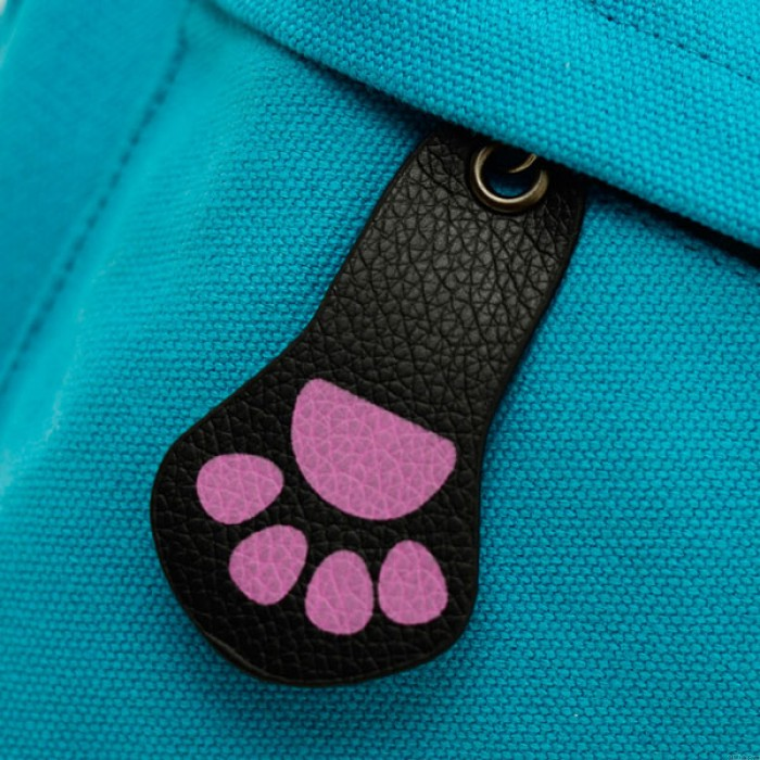 College Style Kitten Canvas Backpacks