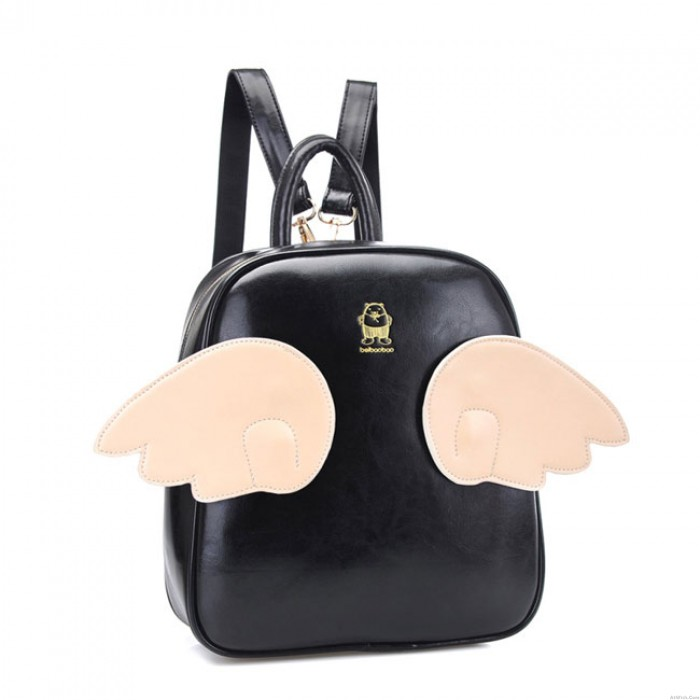 Casual Wing Fashion College Girls Backpacks