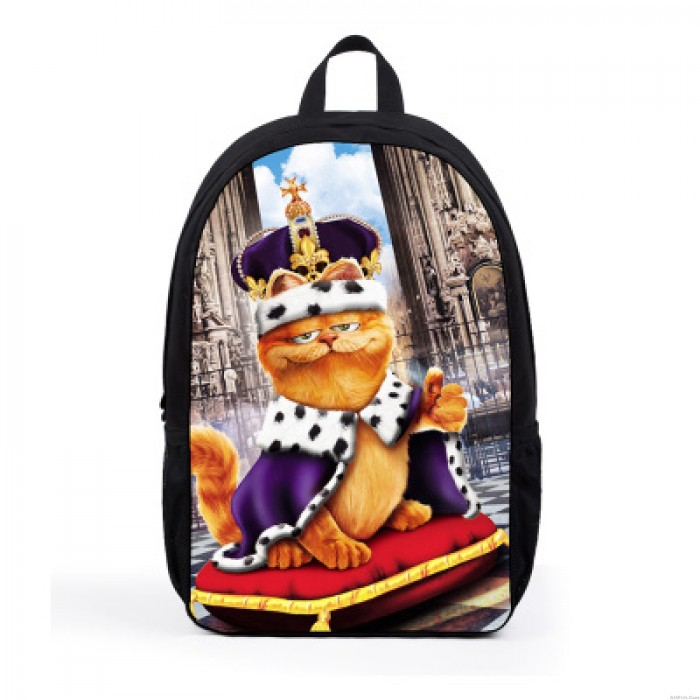 Lovely Pet Printed Sweet Lovely Puppy Macaron Eiffel Tower Computer Bag Backpack