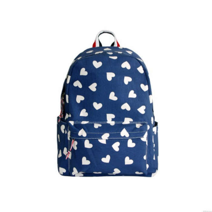 Lovely Fresh Dolphin Heart Cloud Star Whale Pattern Travel College Computer Backpack