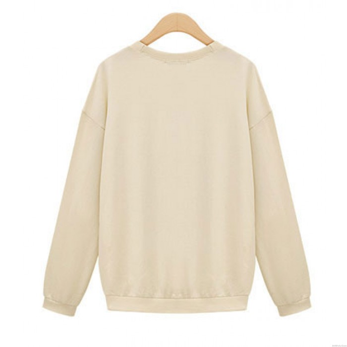 Casual Lovely Owl Thick Sweaters Tops
