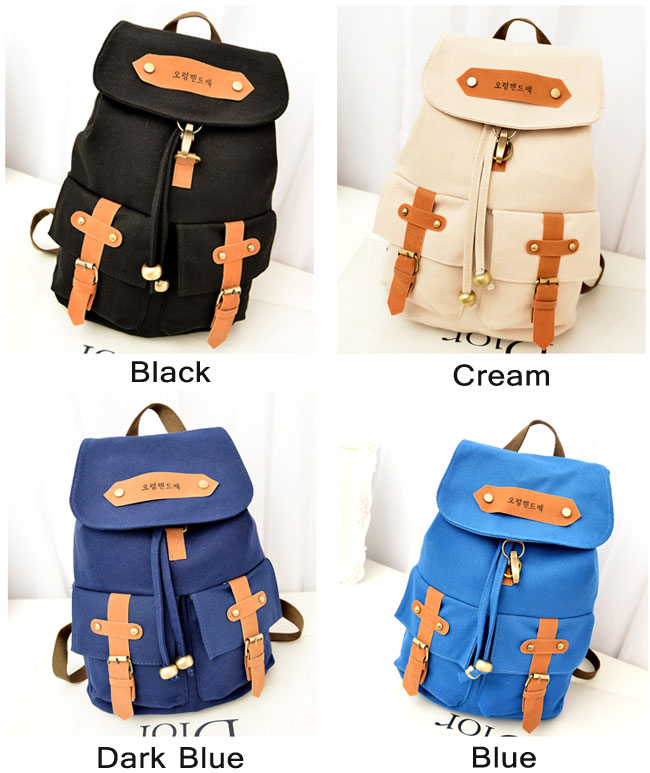 Retro School Fashion Lovley Backpacks