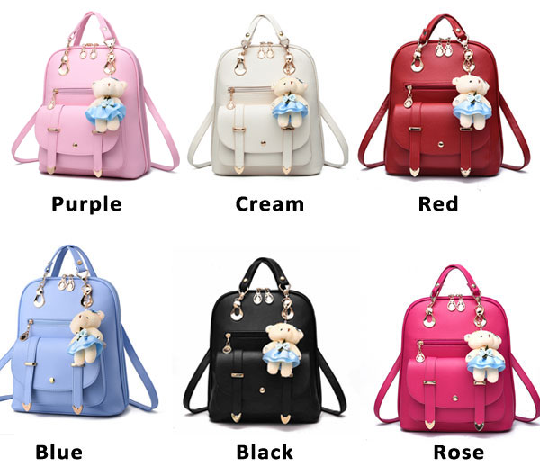 New College Women Bag British Bear Multifunction Handbag Backpacks
