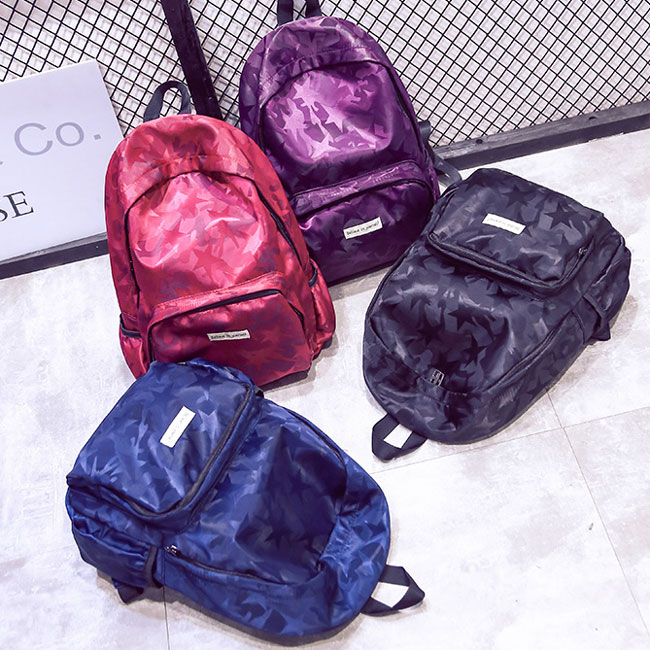 Shining Star Large School Bag Travel Casual Waterproof Backpack